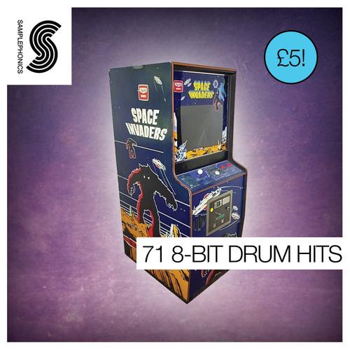 71 8-Bit Drum Hits
