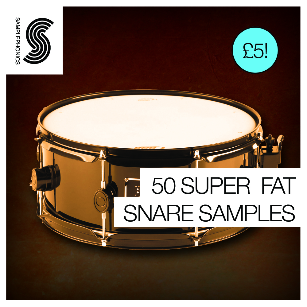 50 Super Fat Snare Samples