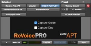 Revoice Pro - Quick APT in Pro Tools