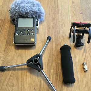 Ultra Mobile Fieldrecording Kit